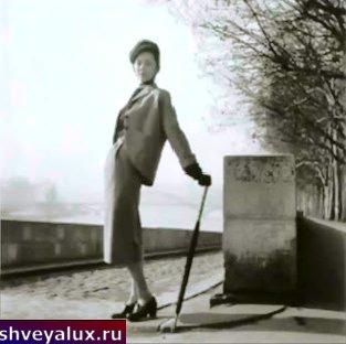 Юбка карандаш на фото девушки 1930-х годов