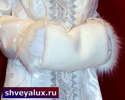 """Дополнение к костюмы Снегурочки """"БЕЛОСНЕЖНЫЙ ЭКСПРЕСС"""""""