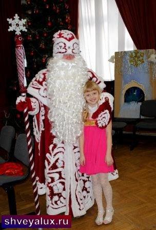"""""""Дед Мороз и девочка"""""""